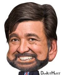 Bill Richardson - Caricature