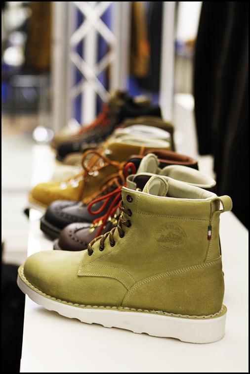 Tuukka at Mens Fashion Week, Paris - Diemme Boots