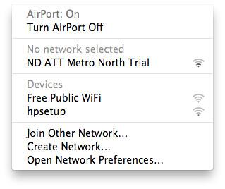 ND ATT Metro North Trial