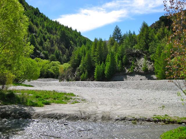 Arrow River, Arrowtown, New Zealand