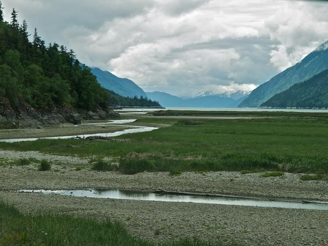 The Dyea flood plain