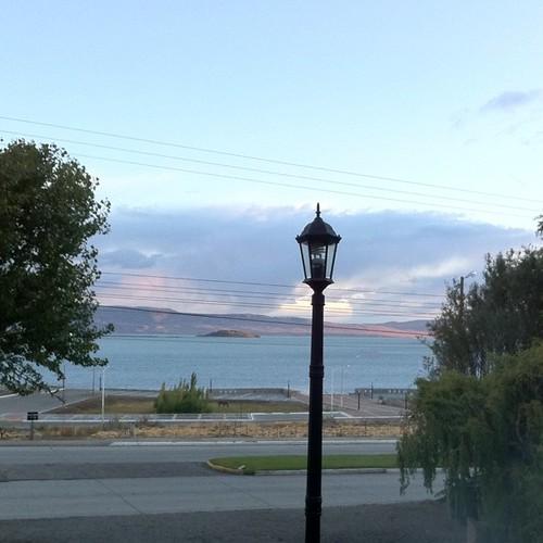 Sunrise on Lake Argentina