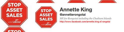 Annette King, former transport Minister ignores road safety