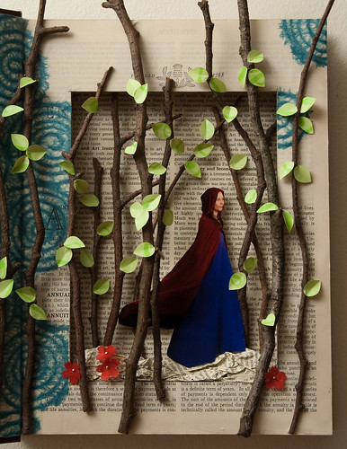 Altered Book- Little Red Riding Hood-5