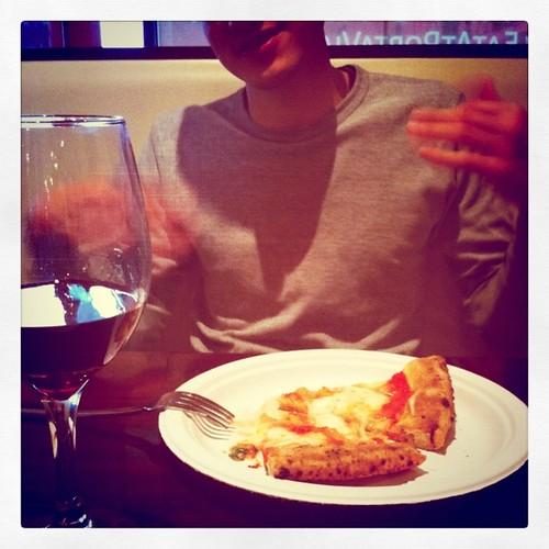 i love that he loves pizza