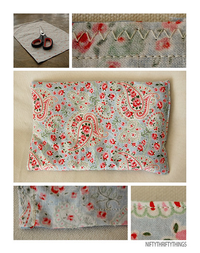 {cherry pit pillow}