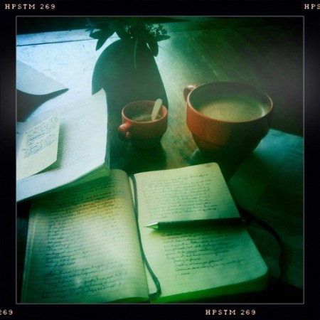 Back among my people: latte at Cafe Zöe