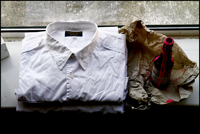 Two White Shirts from Supreme and Brooks Brothers 1