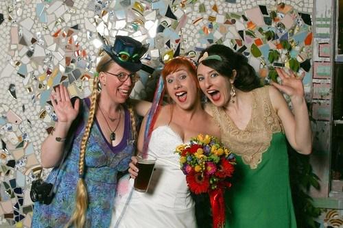 Wedding photobooth fun with Judy and Sasha