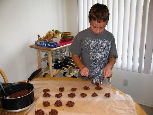 Grandma's Chocolate Missouri Cookies
