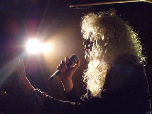 Vivienne performing