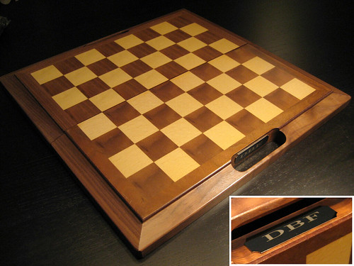 Groomsmen Gift - Wooden Chess Board