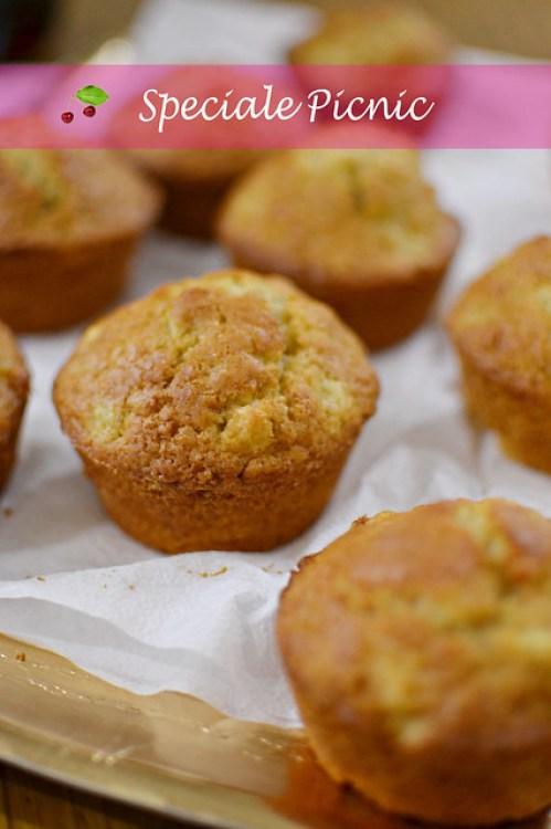 Muffins mele e spezie