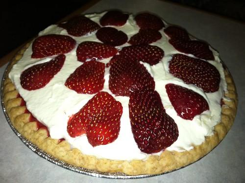 Post-Hike Fresh Strawberry Pie!