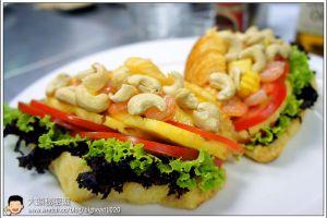 [西餐]三明治類 海洋風鮮蝦蕃茄三明治