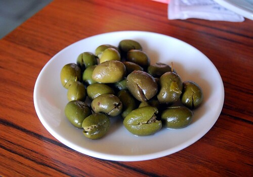 And the olives...