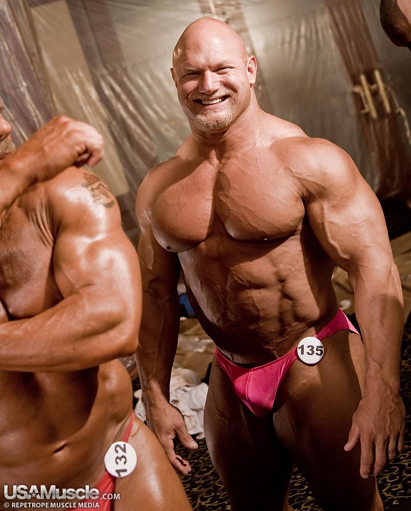 massive bodybuilder morph art