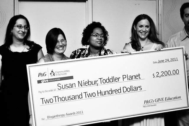 Susan Wins (BIG CHECK!)