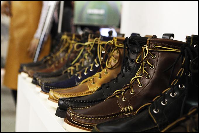 Tuukka at Mens Fashion Week, Paris - Yuketen Boots FW 2011, Capsule