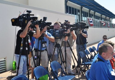 Tampa Bay Rays Pre-Spring Training Press Conference, Port Charlotte, Fla., Feb. 15, 2011