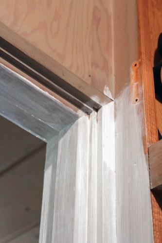 Closeup of Plywood
