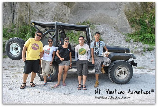 4x4 jeep in Mount Pinatubo photo