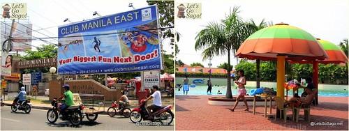 Club Manila East Entrance