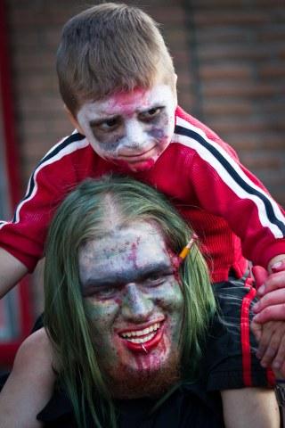Zombie portrait