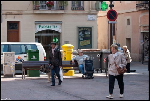 La plaza de la Vila de Gràcia