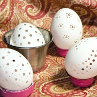 Guest Tutorial from I'm Topsy Turvy: Carving Eggs with a Dremel