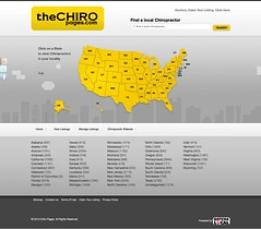 "Chiro Pages | Chiropractic Business Directory • <a style=""font-size:0.8em;"" href=""http://www.flickr.com/photos/10555280@N08/5268593569/"" target=""_blank"">View on Flickr</a>"