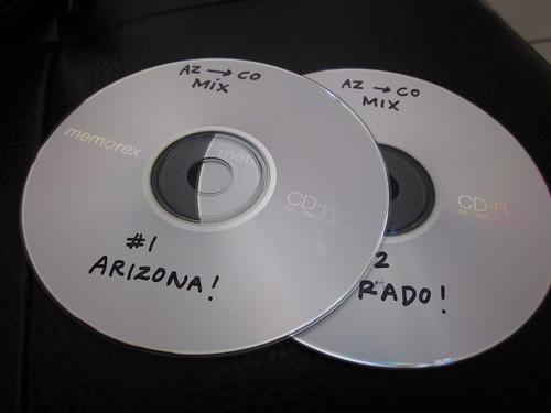 AZ --> CO Mix CD