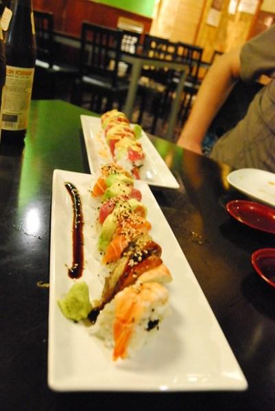 Sushi variado del Wasabi Barcelona