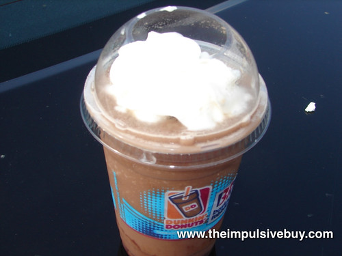 Dunkin Donuts Frozen Hot Chocolate Top