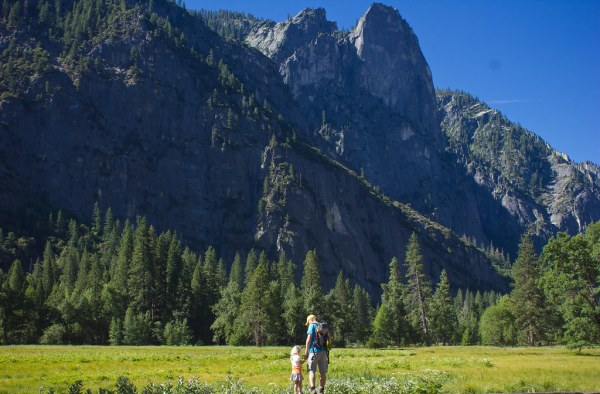 camping in Yosemite for the first time