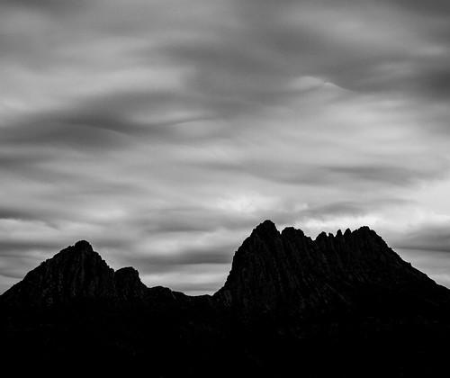 Cloudy Cradle Mountain