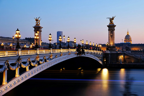 Alexander III Bridge and Les Invalides