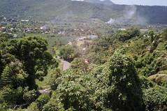 Village derrière Marigot Bay