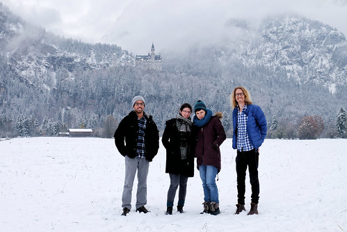 Adventure buddies at Neuschwanstein