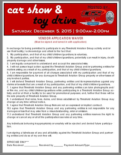 """CHINO CA USA """" Car Show Aand Toy Drive"""" December 5, Saturday - 9am to 2pm - Threshold Aviation Group -  live music , vendors , car awards,  kids activity, food booths,  raffles - Credit: www.SoCalcarculture.com • <a style=""""font-size:0.8em;"""" href=""""http://www.flickr.com/photos/134158884@N03/23509649385/"""" target=""""_blank"""">View on Flickr</a>"""