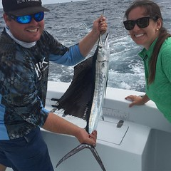 The size of this Sailfish was truly unbelievable! So cool…