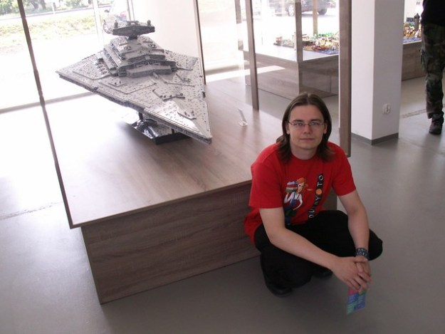Imperial Star Destroyer Chimaera (...and me)