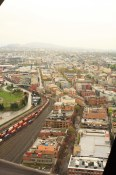 A view of Gastown/Railtown from the top of the Woodwards building
