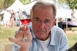 TDM raising a glass at the Okanagan Feast of Fields