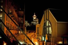 Reader RG Gastown Fire Escape Vancouver BC 916pm