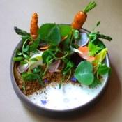 Spring vegetable salad | Blacktail Florist