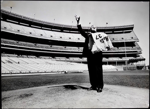 Casey Stengel At Shea Stadium 1965