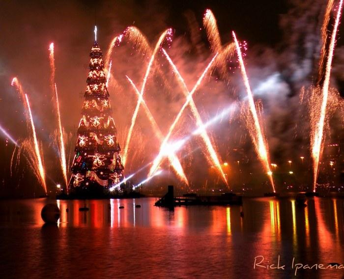 Inauguração da Arvore de Natal da Lagoa - 2010
