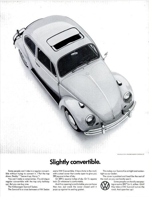 VW BEETLE AD LIFE MAG MAY 13, 1966