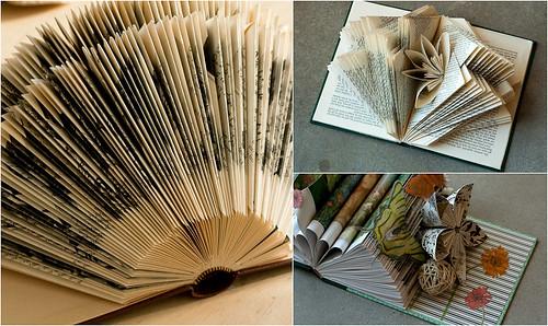 Altered book workshop - Student work